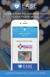 ease mobile app for surgical updates