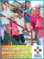 community benefit report 2016 cover