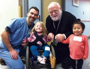 Drs. Martin & Kanev with patients