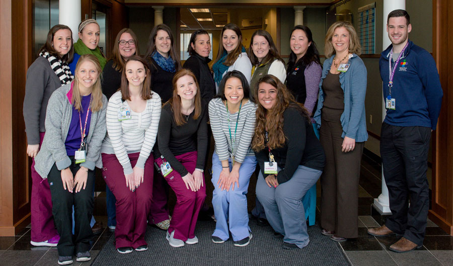 speech-language pathology team
