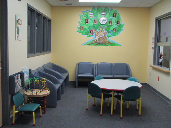 audiology waiting room