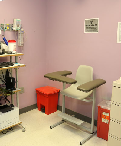 Blood lab
