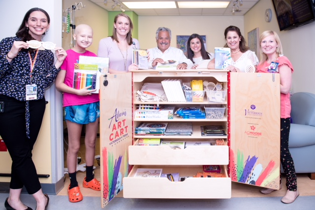 Connecticut Children's Rolls Out New Mobile Art Therapy Cart for Teens & Young Adults