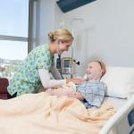 genevieve receiving treatment
