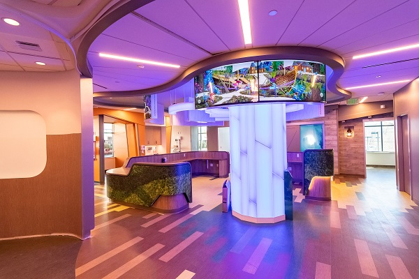 Reinventing the Patient and Family Experience At Connecticut Children's New Infusion Center