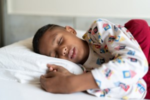 image of child sleeping