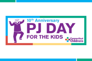 10th anniversary PJ Day logo