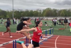patient running hurdles