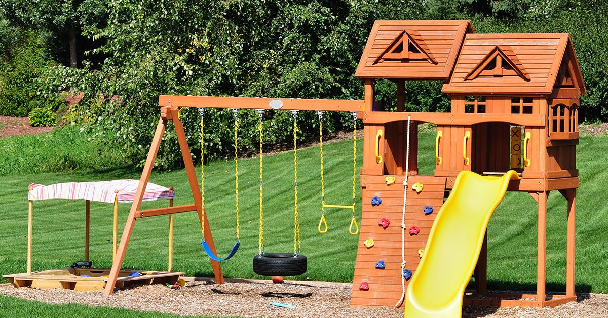 Backyard playscape