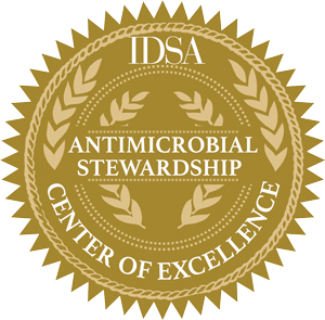 IDSA Antimicrobial Stewardship seal