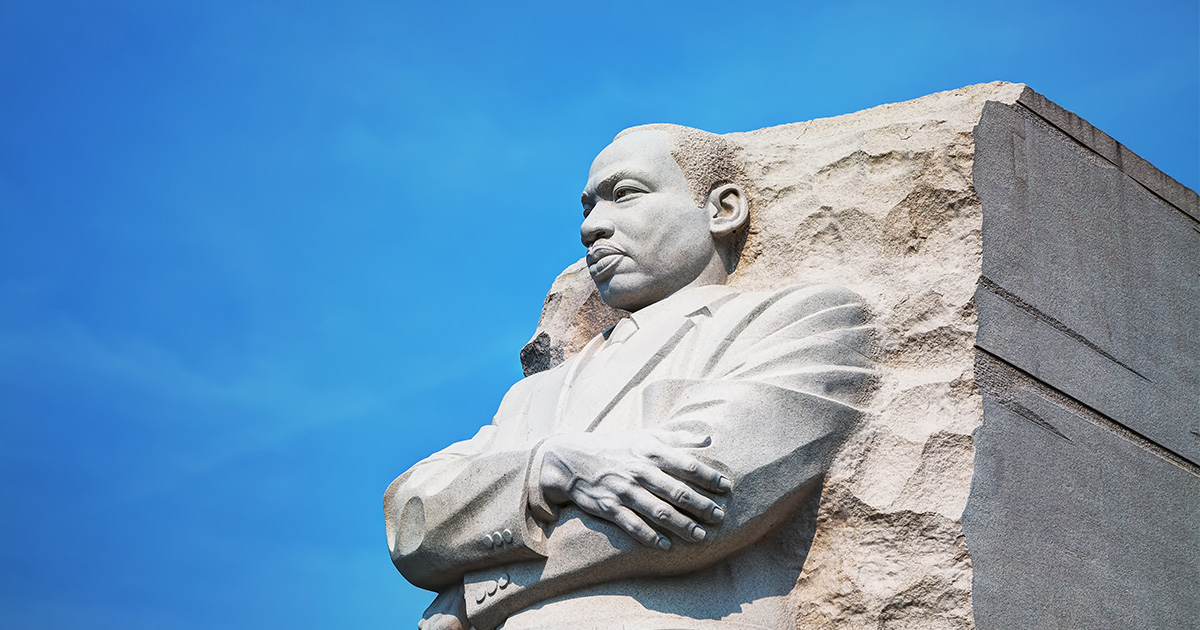 Martin Luther King, Jr. statue in Washington, D.C.