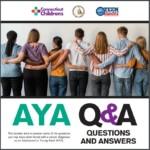 Cover of AYA brochure