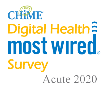 chime digital most wired survey acute 2020 award