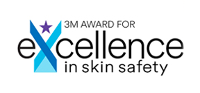 3m award for excellence in skin safety award