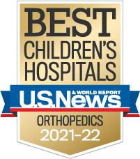 US News World Report - Best in Children's Hospitals - Orthopedics