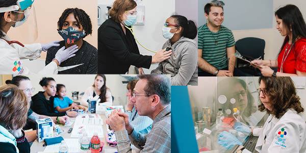 collage of photos of Diabetes providers and patients