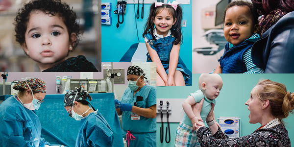 collage of images from Urology including patients and providers