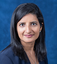Sarita Singhal, MD, a pediatric gastroenterologist at Connecticut Children's and the medical director for physician relations in western Massachusetts