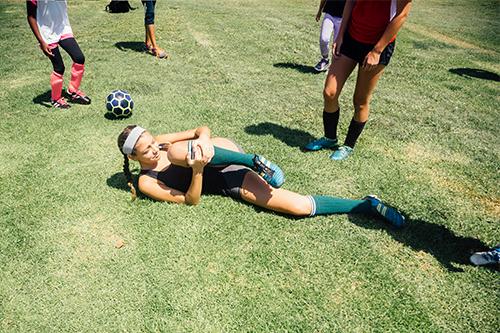 When sprints mean sprains